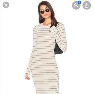 Wildfox Whitney stripe maxi dress